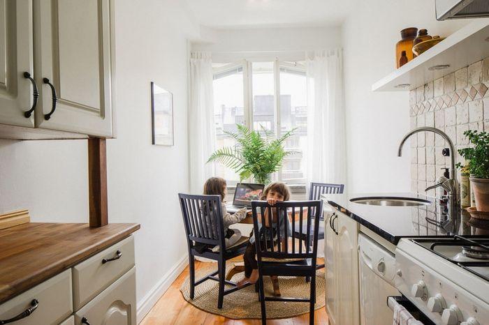 Кухня в небольшой квартире
