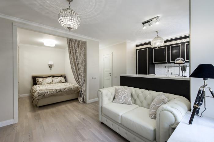 Крошечная московская квартира