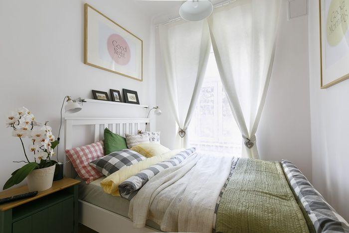 Стильная маленькая спальня