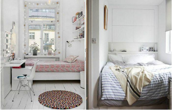 Как визуально увеличить спальню?