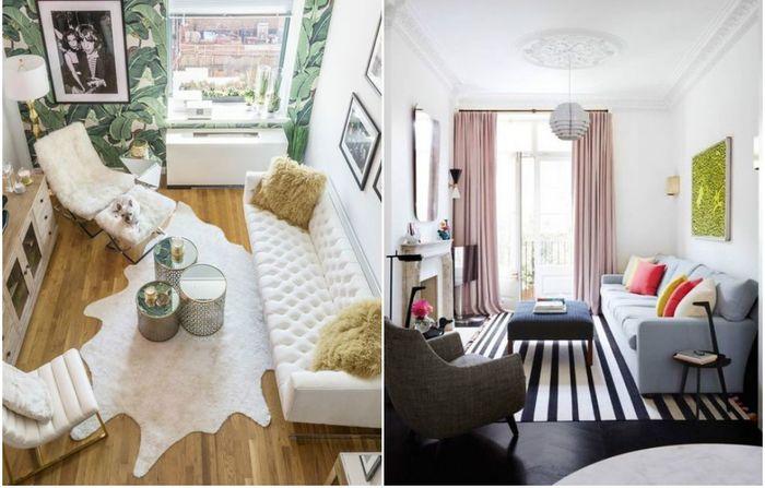 Как обустроить маленькую гостиную?