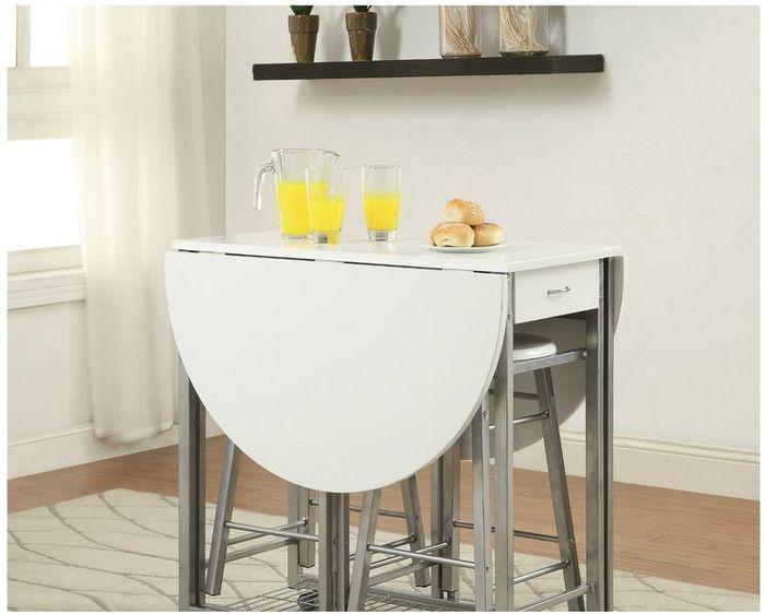 Кухонный стол трансформер для маленькой кухни своими руками