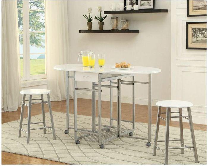 Отличный стол для маленькой кухни