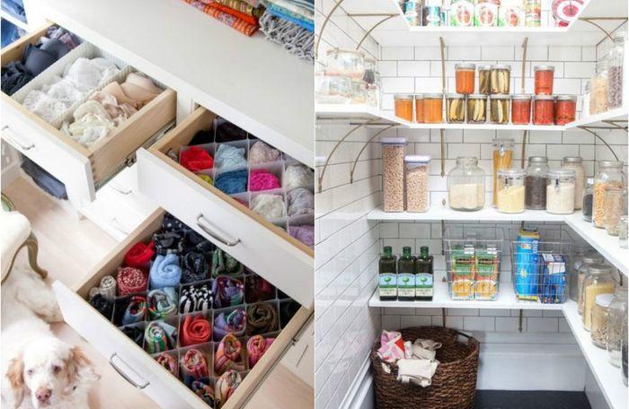 25 крутых идей для идеального порядка в каждой комнате