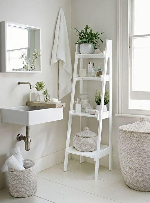 Стильное хранение в ванной