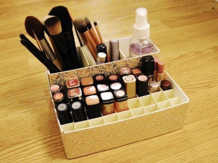 Как сделать красивую коробку для косметики своими руками