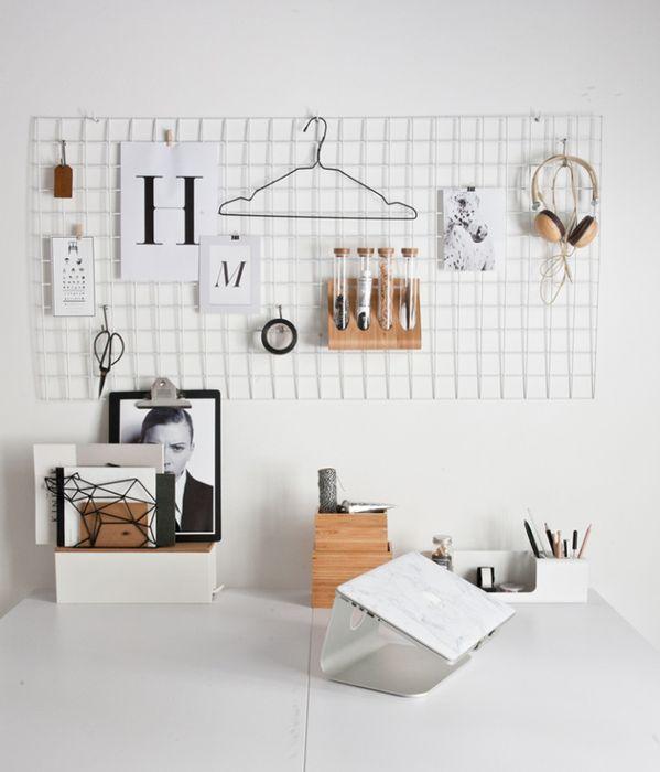 7. Самодельный органайзер для домашнего офиса