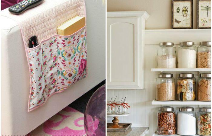 Идеи для эффективного хранения в доме