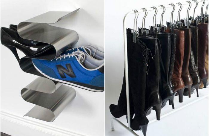 7 практичных идей по хранению обуви