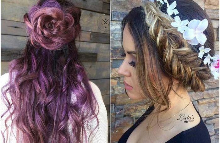 7 крутых причёсок для тех, у кого длинные волосы