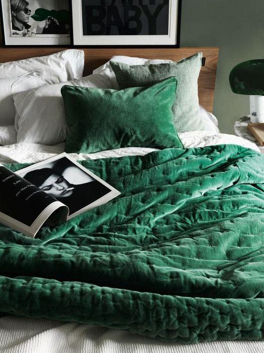 Бархатное постельное бельё