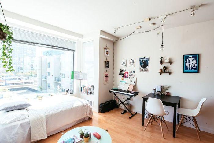 Квартира творческой девушки