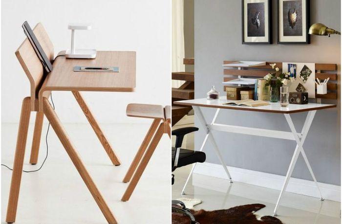 Удобные и стильные столы для домашнего офиса