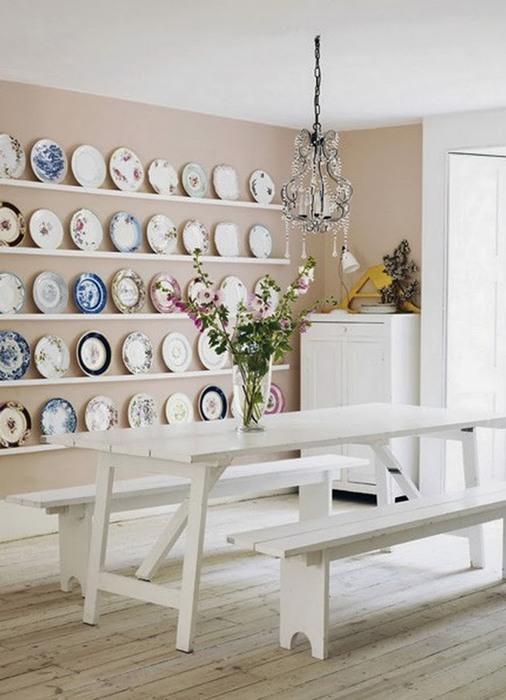 Экспозиция коллекции тарелок