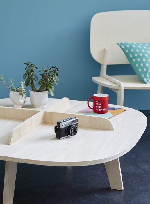 Стильная мебель из фанеры французского тополя