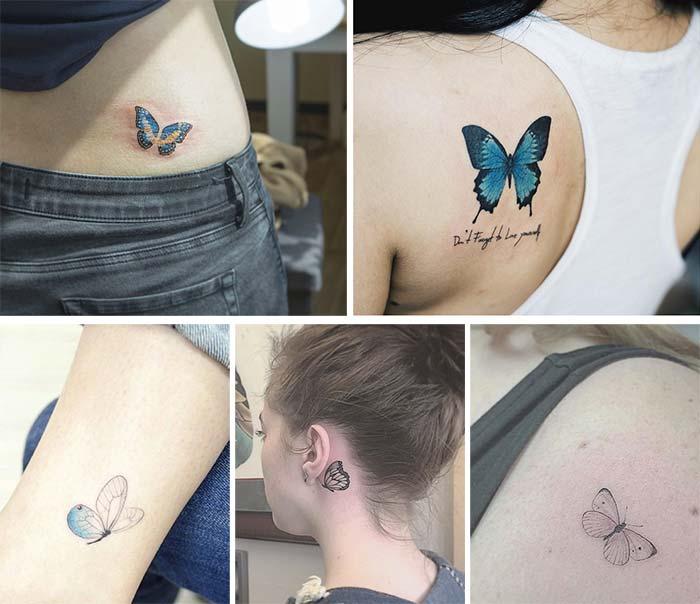 Мечтательная бабочка