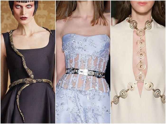 Пояса-ожерелья