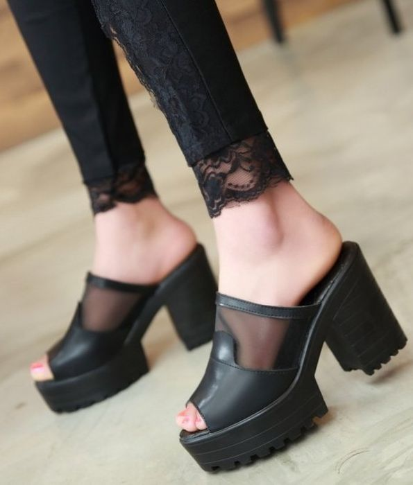 В такой обуви очень удобно