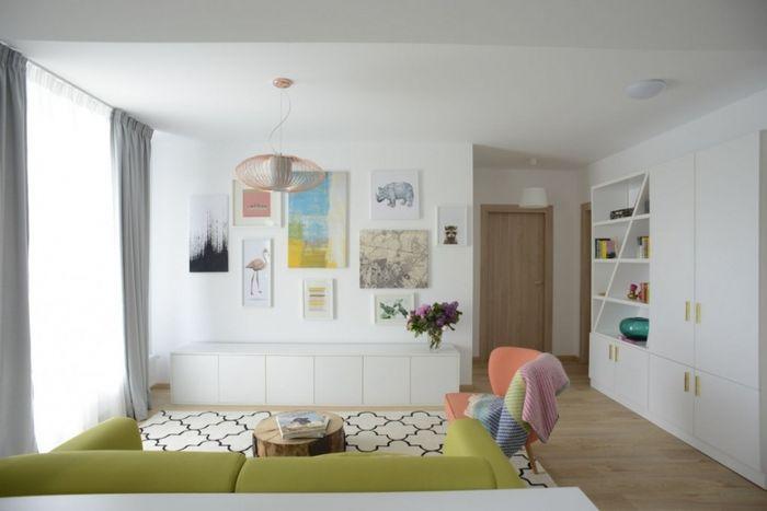 Квартира с площадью 71 квадратный метр