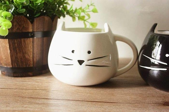 Кружка-кошка