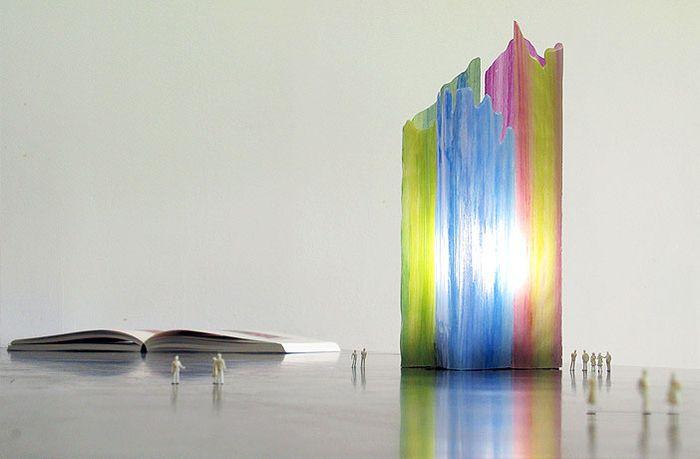 1. Светильник-радуга