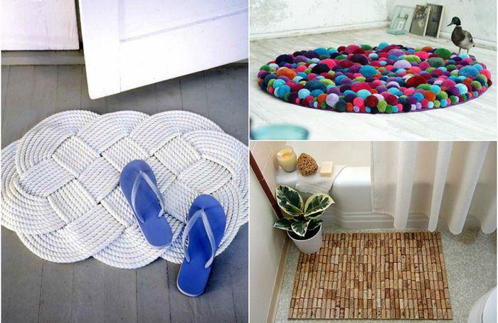7 крутых ковриков, которые легко сделать своими руками