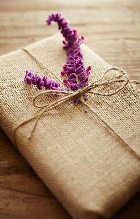 Упаковка из мешковины и джута