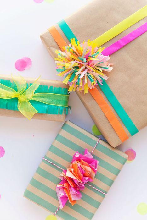 Яркая цветная упаковка