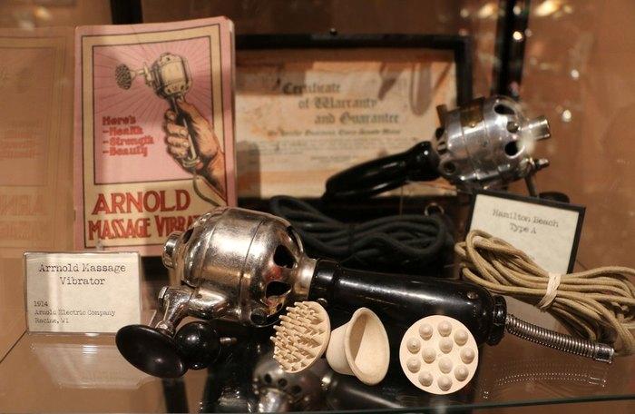 В музее вибраторов можно увидеть много интересного.
