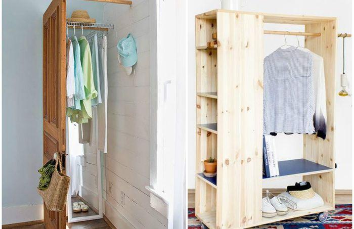 10 крутых мини-гардеробных, которые отлично впишутся в небольшой интерьер