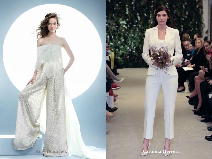 Стильные свадебные костюмы