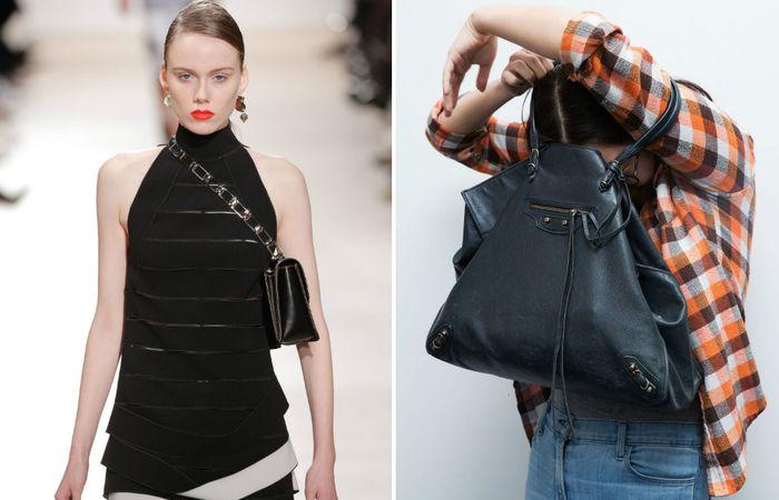 Как модно носить сумку: ожидание и реальность