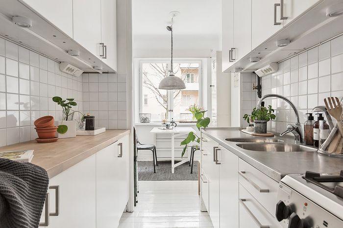 Практичный и стильный интерьер кухни