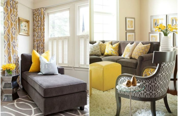 Солнце в гостиной: 10 крутых примеров того, как оживить осенний интерьер