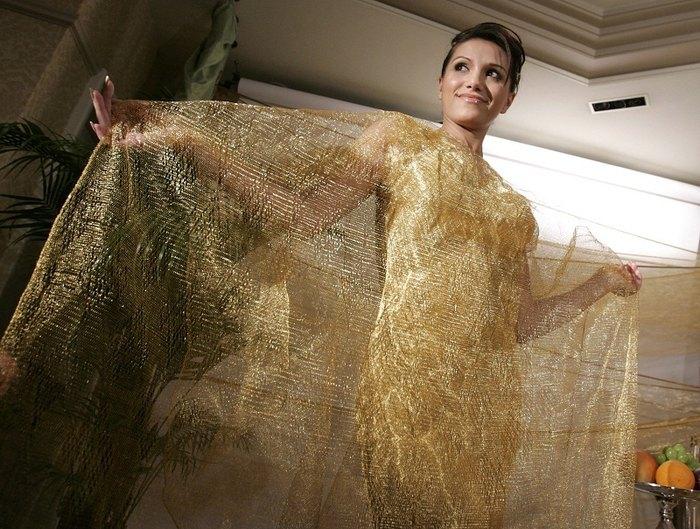 Золотое платье Ginza Tanaka