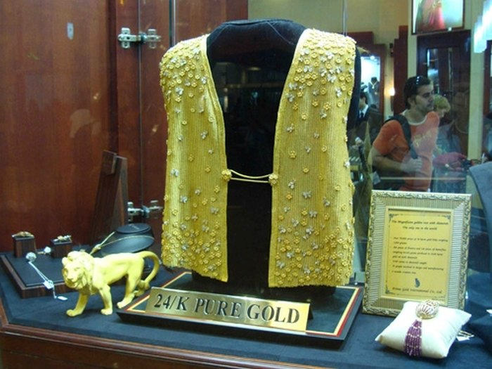 Золотой жилет
