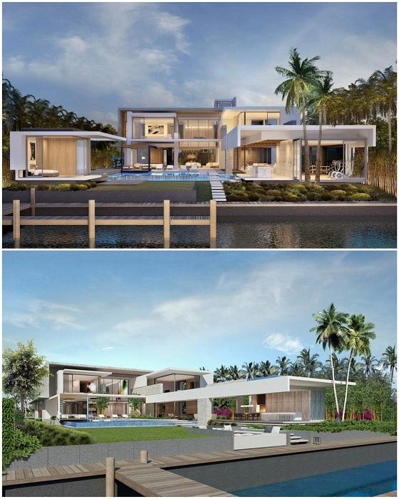 Residence находится в современном доме на престижном Стар Айленд в Майами, штат Флорида, США.