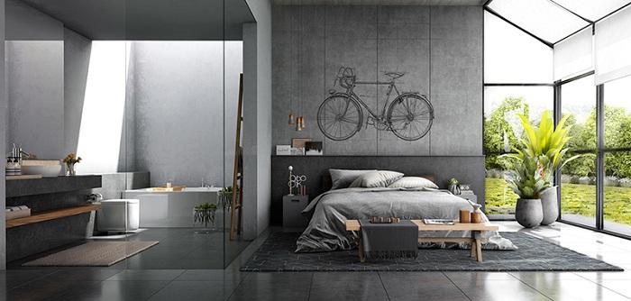 Хороший вариант украсить стену в спальне - это создать там тематический рисунок.