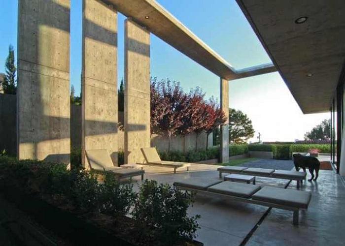 Архитектурный шедевр - вилла в Калифорнии.