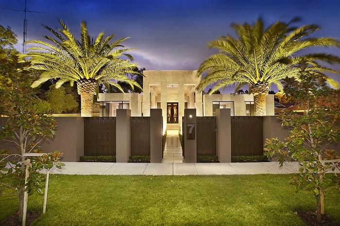 Прекрасный дом в Калифорнии, США.