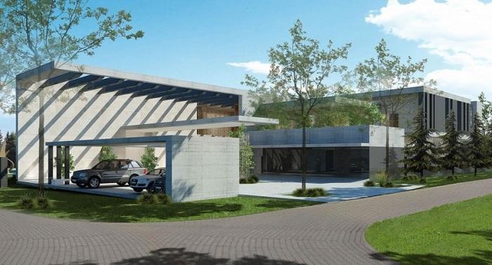 Дизайн  строения - Студия SAOTA.