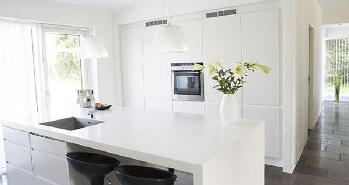 Потрясающий интерьер кухни, что станет просто находкой для любого дома.