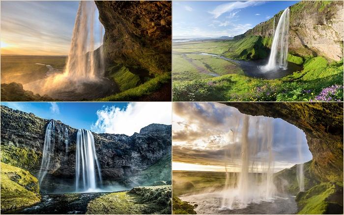 Водопад Селйяландсфосс расположился на реке Сельяландса, в 30 километрах западнее города Скогара. Причем это не самый масштабный водопад, однако он все равно привлекает к себе тысячи туристов.
