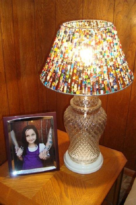 Сшить абажур для лампы своими руками из