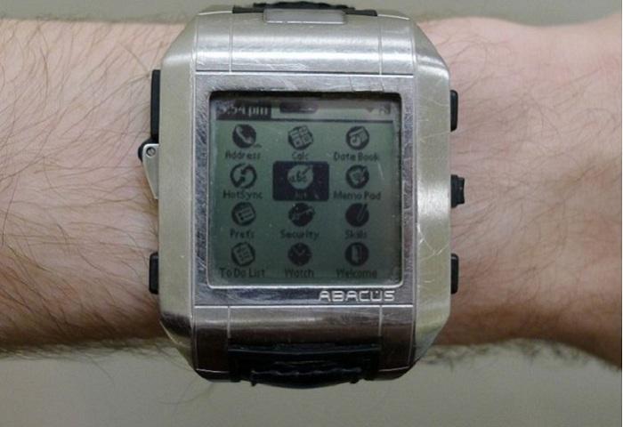 Модель часов Fossil Wrist PDA.