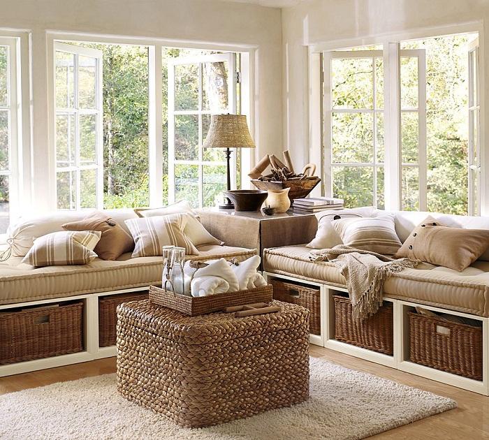 Оптимальное оформление местечка для отдыха, за которым возможно проводить массу свободного времени.