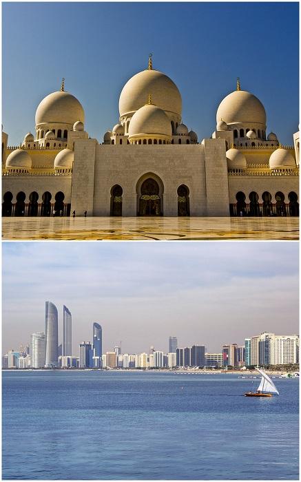 Абу-Даби — это самый богатый и при этом большой эмират среди всех, входящих в состав ОАЭ. Сам город Абу-Даби особенно примечателен для туристов еще и тем, что является столицей Объединённых Арабских Эмиратов, а также по праву считается одним из немногих на сегодня настоящих городов-парков.