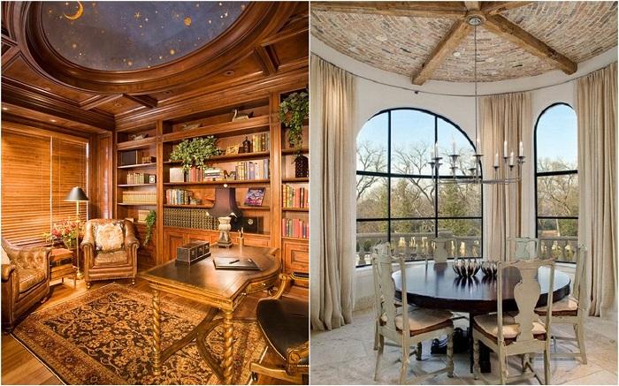 Отличные примеры оформления потолков, которые украсят любую комнату.