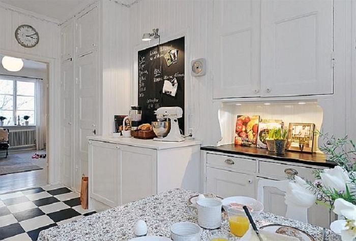 Крутое решение для декорирования кухни в светлых тонах, что вдохновит по максимуму.
