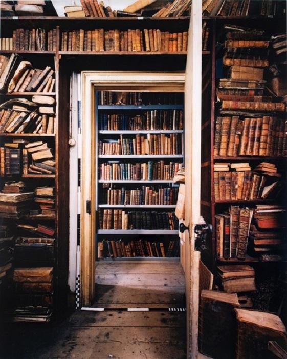 Уютная комната с потайной дверью, которая ведет в книжный рай.